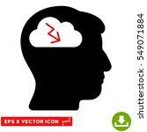 brainstorming eps vector icon.... | Shutterstock .eps vector #549071884