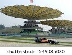 sepang  malaysia  30 march 2014 ... | Shutterstock . vector #549085030