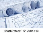 architectural project | Shutterstock . vector #549086443