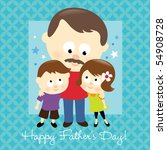 jpeg happy father's day 2 | Shutterstock . vector #54908728
