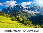 the bright morning sun... | Shutterstock . vector #549096160