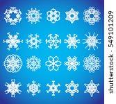 snowflake icon. winter theme....   Shutterstock .eps vector #549101209