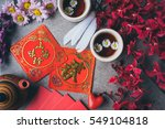 chinese new year decoration ... | Shutterstock . vector #549104818