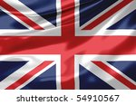 satin uk flag | Shutterstock . vector #54910567