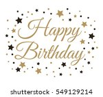 happy birthday background.... | Shutterstock .eps vector #549129214