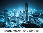 aerial view of tianjin... | Shutterstock . vector #549135040