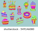 cupcake | Shutterstock . vector #549146080