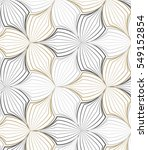 flower pattern vector ... | Shutterstock .eps vector #549152854