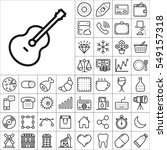 set of universal icons.... | Shutterstock .eps vector #549157318