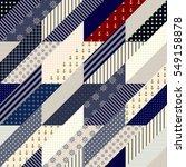 seamless background pattern.... | Shutterstock .eps vector #549158878