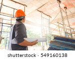 project architects and... | Shutterstock . vector #549160138