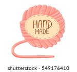 hand made vector collection of... | Shutterstock .eps vector #549176410