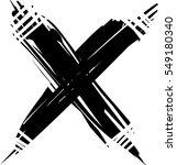 vector cross sign | Shutterstock .eps vector #549180340