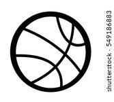 basketball icon | Shutterstock .eps vector #549186883