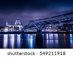 London Skyline At Night With...