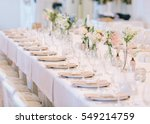 wedding decor  interior.... | Shutterstock . vector #549214759