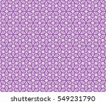 floral pattern of geometric...