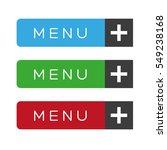 menu item ux vector