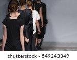 fashion show  catwalk runway... | Shutterstock . vector #549243349
