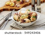 stuffed squid | Shutterstock . vector #549243406