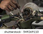 Repair Or Fix A Motorcycle Or...