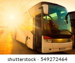 beautiful landscape tourist bus ... | Shutterstock . vector #549272464