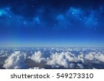 high altitude view between sky... | Shutterstock . vector #549273310