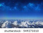 High Altitude View Between Sky...