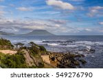 view of seascape and ocean with ... | Shutterstock . vector #549276790