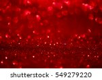 Red Glitter Abstract Backgroun...