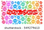 sale discount and percentages...   Shutterstock . vector #549279613