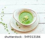 pea soup  | Shutterstock . vector #549313186