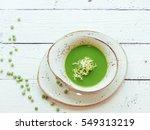 pea soup  | Shutterstock . vector #549313219