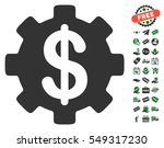 development cost icon with free ... | Shutterstock .eps vector #549317230