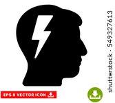 brainstorming eps vector icon....   Shutterstock .eps vector #549327613
