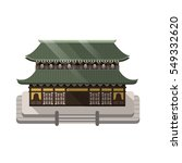 Japanese Style Temple.