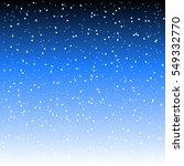 falling snow background. vector ... | Shutterstock .eps vector #549332770