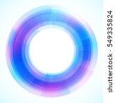 geometric frame  vector...   Shutterstock .eps vector #549335824