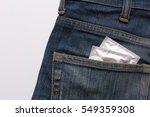 condoms in package in jeans.   Shutterstock . vector #549359308