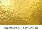 gold foil paper decorative... | Shutterstock . vector #549369343
