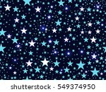 seamless pattern with stars ... | Shutterstock .eps vector #549374950