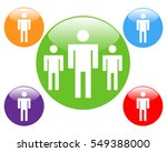 people icon design isolated... | Shutterstock .eps vector #549388000