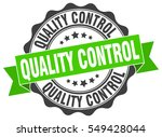 quality control. stamp. sticker.... | Shutterstock .eps vector #549428044