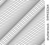 wavy pattern mesh  line ... | Shutterstock .eps vector #549433264