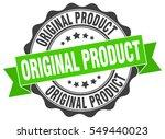 original product. stamp.... | Shutterstock .eps vector #549440023