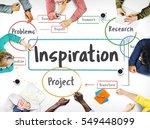 inspiration creative ideas...   Shutterstock . vector #549448099