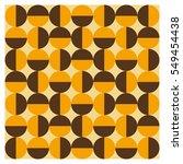 background of seventies... | Shutterstock .eps vector #549454438