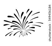 fireworks burst design | Shutterstock .eps vector #549456184