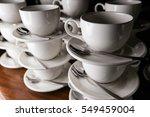 coffee cups | Shutterstock . vector #549459004