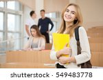 love studying. shot of a... | Shutterstock . vector #549483778